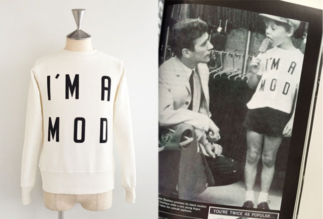 24. Mod logo t-shirts and sweatshirts by Pop Gear
