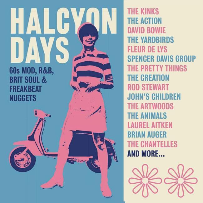 39. Halcyon Days 60s Mod, R&B, Brit Soul and Freakbeat box set