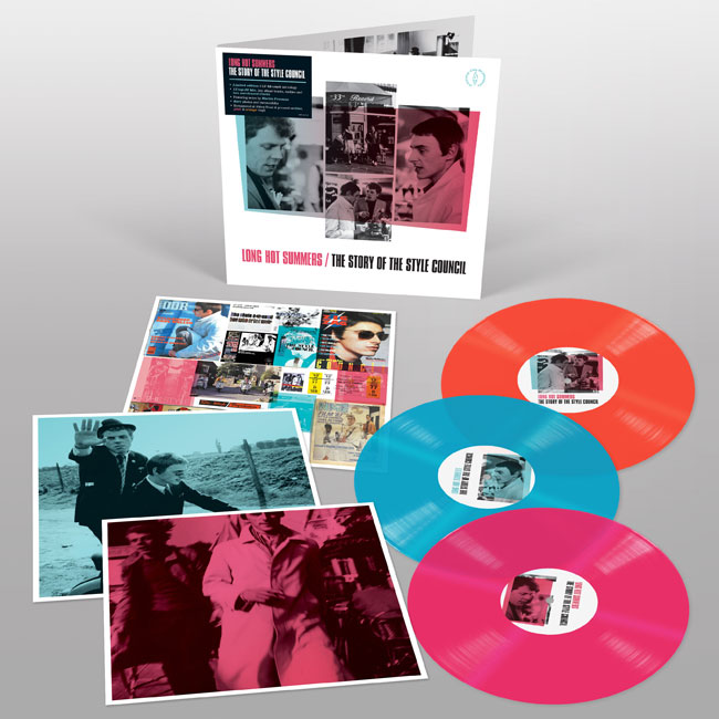 7. Long Hot Summers: The Story of The Style Council vinyl set