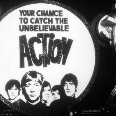 Limited edition The Action turntable mat