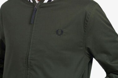 Affordable Fred Perry tennis bomber jacket lands