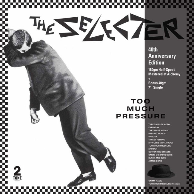 The Selecter - Too Much Pressure 40th-anniversary vinyl