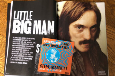 Mojo magazine featuring Steve Marriott out now