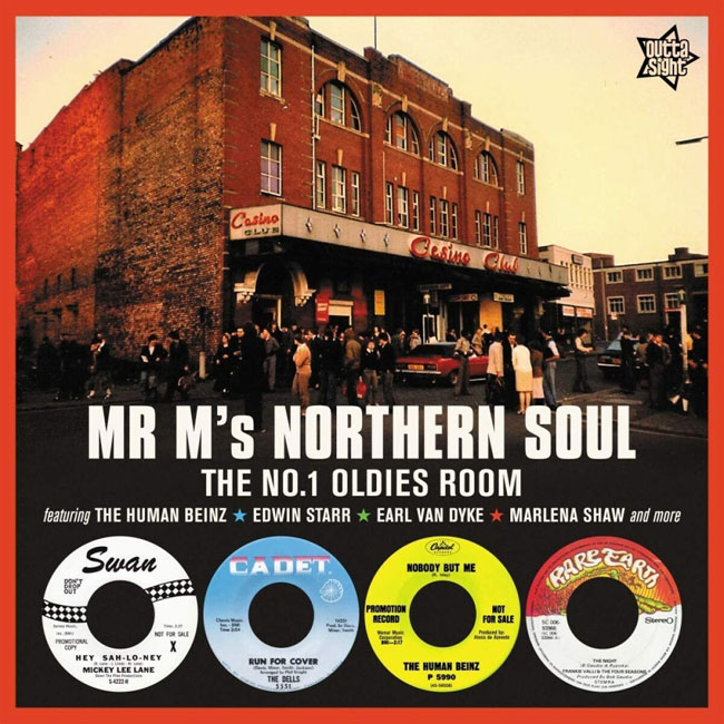 Mr M's Northern Soul vinyl compilation (Outta Sight)