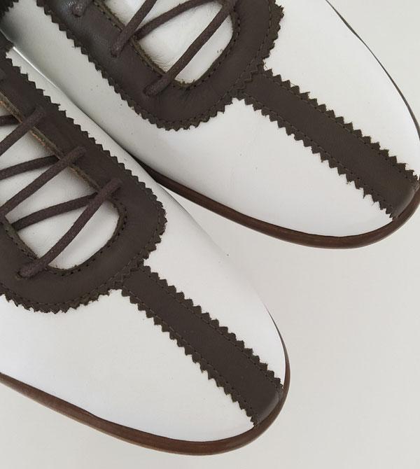 1960s-style Retro footwear by Dr Watson Shoemaker