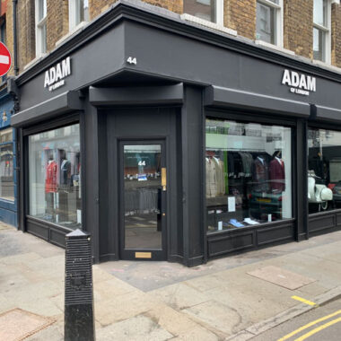 Adam Of London flagship store opens in Soho