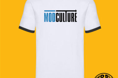 Limited edition charity Modculture t-shirt