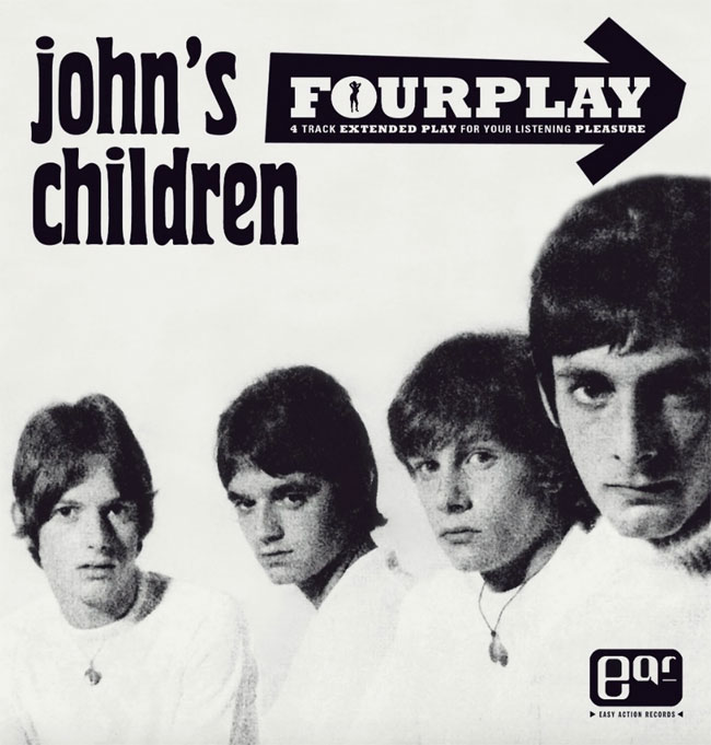 John's Children - Fourplay limited edition 7-inch EP