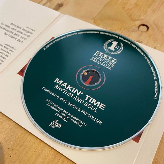The Prisoners and Makin' Time CD reissues from Acid Jazz