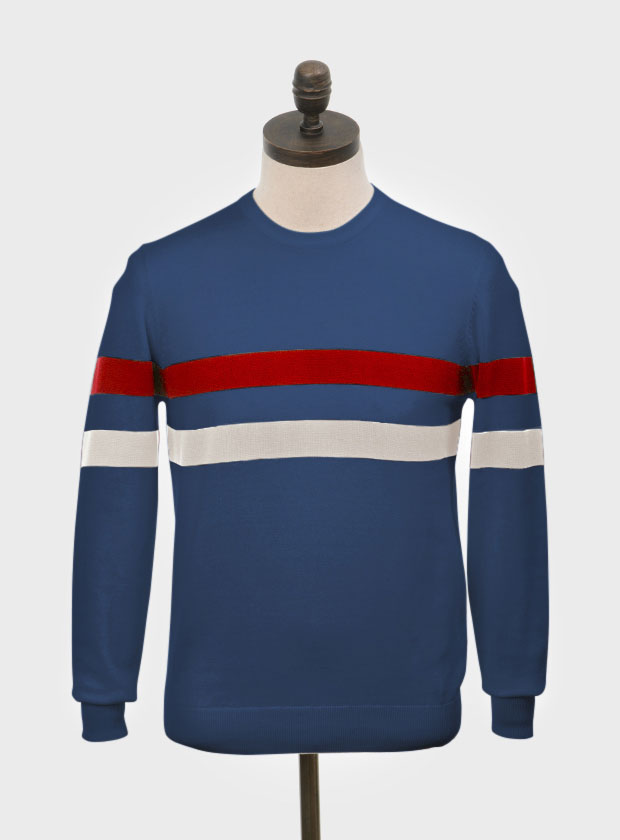 Scene 1960s-style crew neck sweaters by Art Gallery Clothing